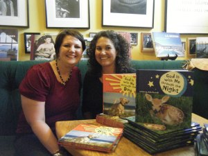 Julie Cantrell signs at Lemuria