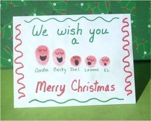 Day 4 Cute Christmas Handprint Art Ideas Julie S Journal